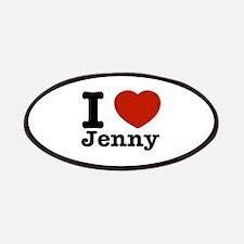 I love Jenny Patches