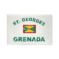 St. Georges Grenada designs Rectangle Magnet