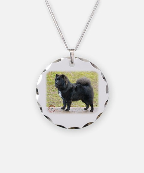 Finnish Lapphund 9T039D-035 Necklace