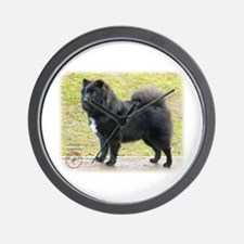 Finnish Lapphund 9T039D-035 Wall Clock