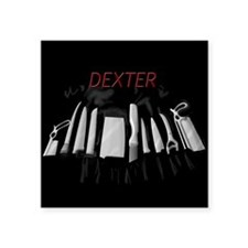 "Dexter's Kill Tools Square Sticker 3"" x 3"""