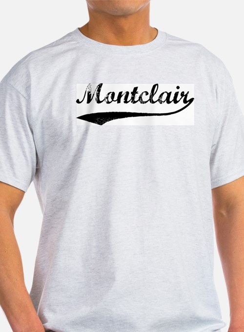 Montclair - Vintage Ash Grey T-Shirt
