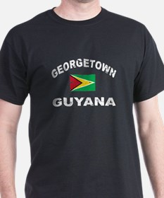 George Town Guyana designs T-Shirt