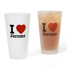 I love Jerome Drinking Glass