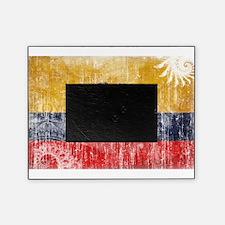 Ecuador Flag Picture Frame