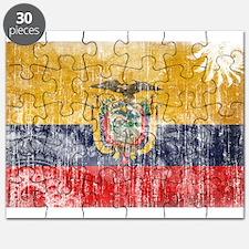 Ecuador Flag Puzzle