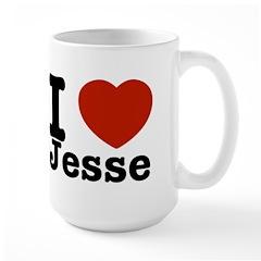 I love Jesse Large Mug