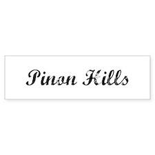 Pinon Hills - Vintage Bumper Bumper Sticker