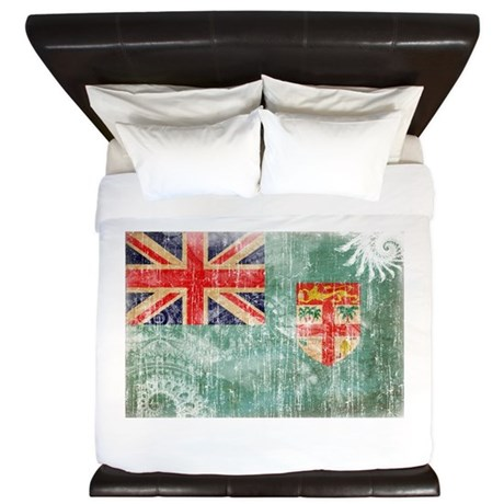 Fiji Flag King Duvet