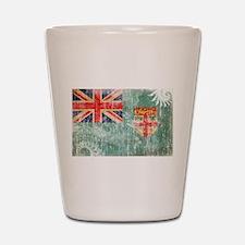 Fiji Flag Shot Glass