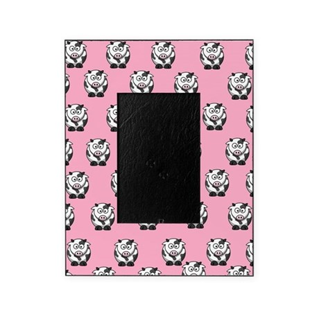 Cows Pink Picture Frame