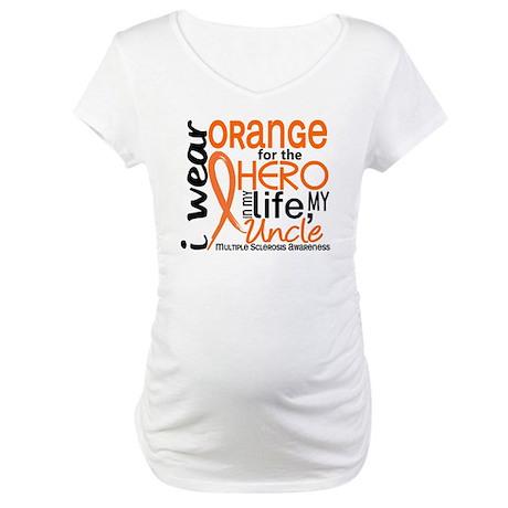 Hero In Life 2 MS Maternity T-Shirt