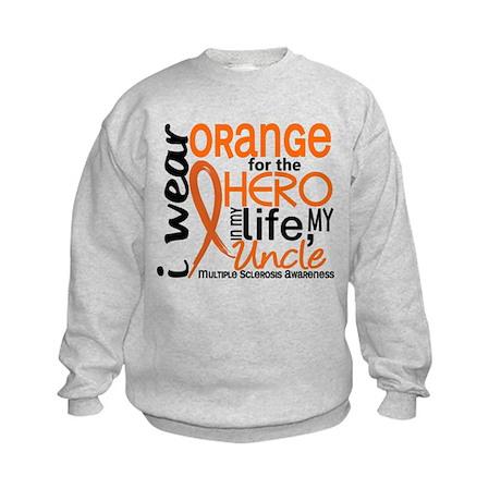 Hero In Life 2 MS Kids Sweatshirt
