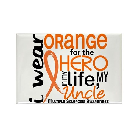 Hero In Life 2 MS Rectangle Magnet (100 pack)