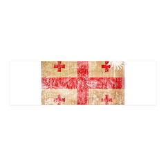 Georgia Flag 42x14 Wall Peel