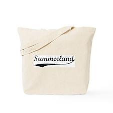 Summerland - Vintage Tote Bag