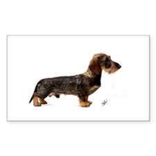 Miniature Wire Haired Dachshund 9Y817D-046 Decal