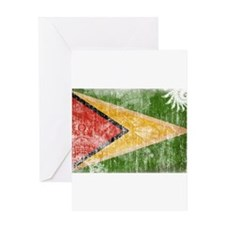 Guyana Flag Greeting Card