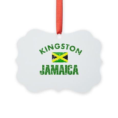 Kingston Jamaica designs Picture Ornament