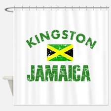 Kingston Jamaica designs Shower Curtain