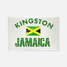Kingston Jamaica designs Rectangle Magnet