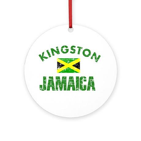 Kingston Jamaica designs Ornament (Round)