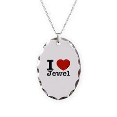 I love Jewel Necklace