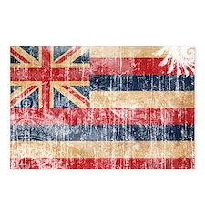 Hawaii Flag Postcards (Package of 8)