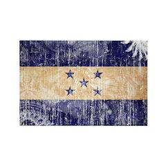 Honduras Flag Rectangle Magnet (100 pack)