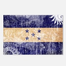 Honduras Flag Postcards (Package of 8)
