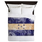 Honduras flag Queen Duvet Covers