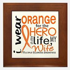 Hero In Life 2 MS Framed Tile