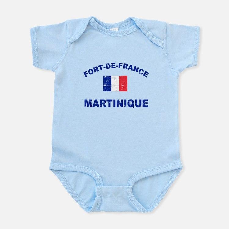 Fort De France Martinique designs Infant Bodysuit