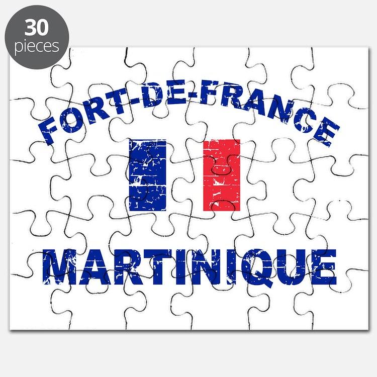 Fort De France Martinique designs Puzzle