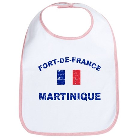 Fort De France Martinique designs Bib