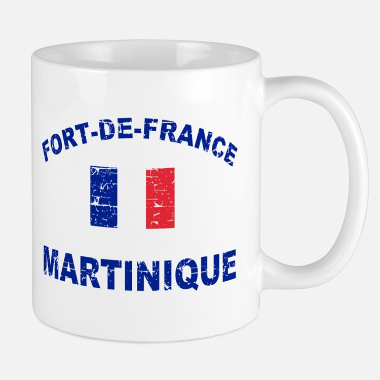 Fort De France Martinique designs Mug