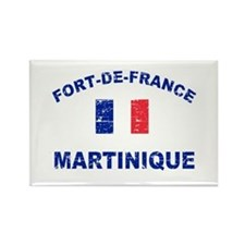 Fort De France Martinique designs Rectangle Magnet