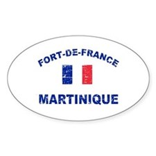 Fort De France Martinique designs Decal