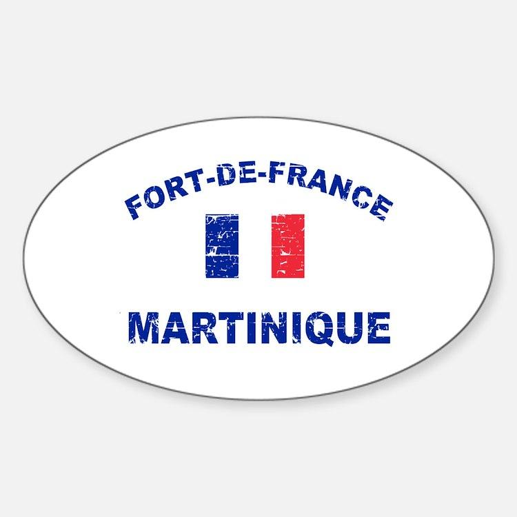 Fort De France Martinique designs Decal