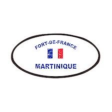 Fort De France Martinique designs Patches