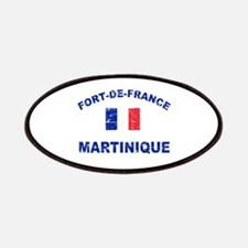 Fort De France Martinique designs Patches