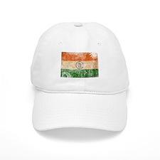 India Flag Baseball Cap