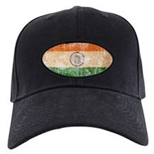 India Flag Baseball Hat
