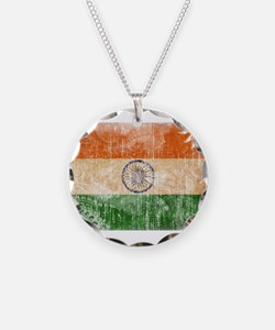 India Flag Necklace