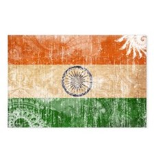 India Flag Postcards (Package of 8)