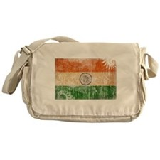 India Flag Messenger Bag
