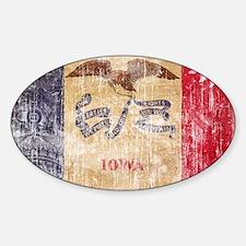 Iowa Flag Stickers