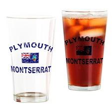 Plymouth Montserrat designs Drinking Glass
