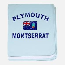 Plymouth Montserrat designs baby blanket