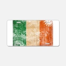 Ireland Flag Aluminum License Plate